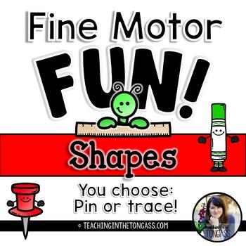 Shapes Fine Motor Fun