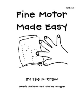 Fine Motor Made Easy Book
