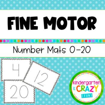 Fine Motor Numbers