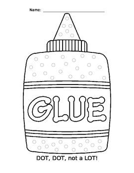 Fine Motor Skills - Dot, Dot, Not a Lot! Glue Bottle
