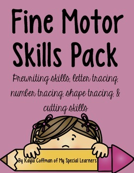 Fine Motor Skills Pack