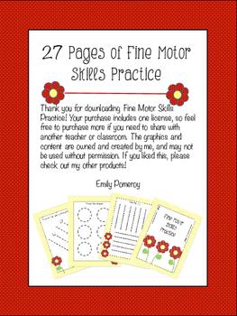 Fine Motor Skills Practice