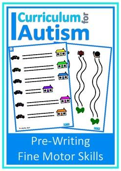 Fine Motor Pre-Writing Skills Write & Wipe, Autism, Specia