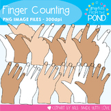 Finger Counting - Clipart Graphics From the Pond
