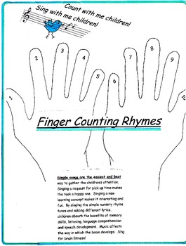Finger Counting Rhymes