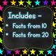 Finger Flashlight Subtraction Facts