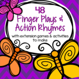 Finger Plays and Action Rhymes with Activities