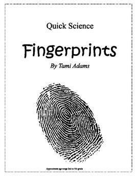 Finger Prints (Quick Science)