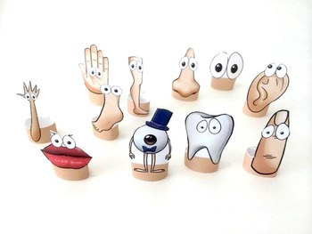 Finger Puppets: Body Parts for Storytelling