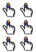 Finger Space Pointer Templates