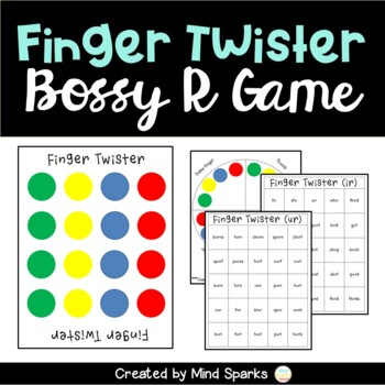 Finger Twister (R-Controlled Vowels/ Bossy R)