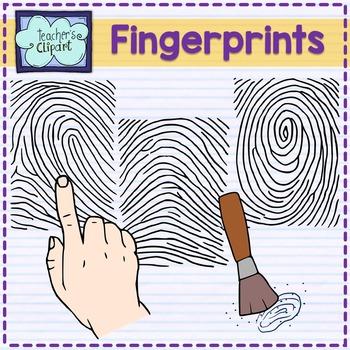 Fingerprints Clip Art