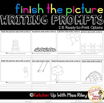 Finish the Picture and Write a Story