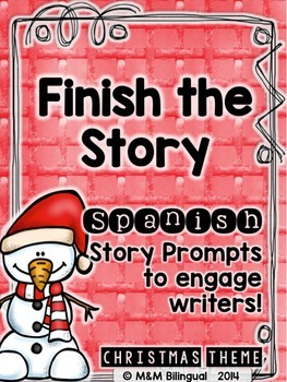 Finish the Story - Christmas Edition {SPANISH}