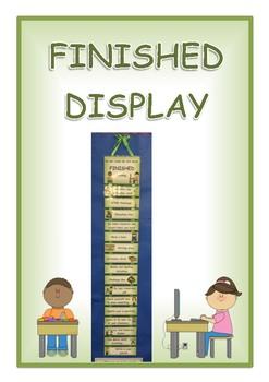 Finishing Tasks Display