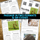 Fire Ants: Informational Article, QR Code Research & Fact Sort