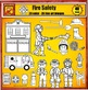 Fire Fighter Clip Art - Fire Safety by Charlotte's Clips