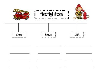 Fire Fighters Tree Map (October - Fire Safety)