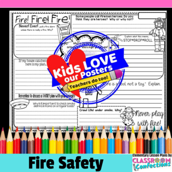 Fire Safety Activity Poster: Fire Safety Week