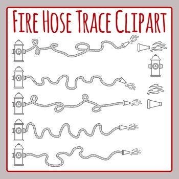 Fire Hose Trace Clip for Fine Motor Control Practice Clip