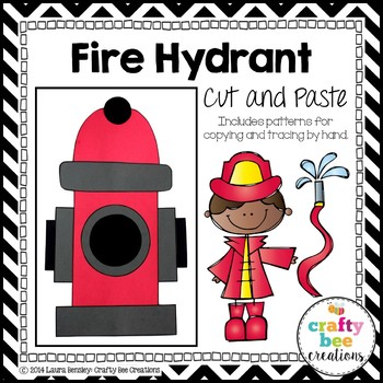 Fire Hydrant Cut and Paste