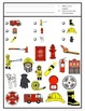 Fire Safety Week Game: I Spy adapted with 3 levels