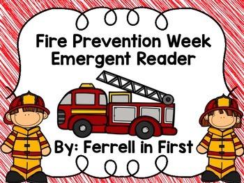 Fire Prevention Week Emergent Reader