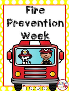 Fire Prevention Week Freebies