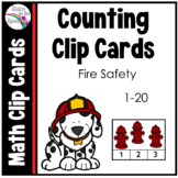 Fire Safety Activities * Fire Safety Counting 1-20 * Fire