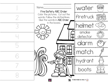 Fire Safety ABC Order