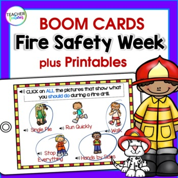 Fire Safety Activities for K-2