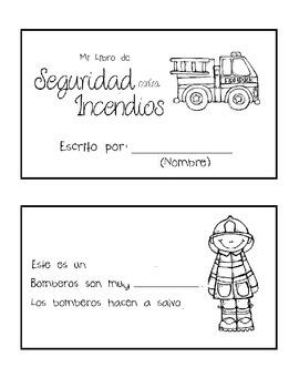 Fire Safety Book (Spanish, EFL friendly!)