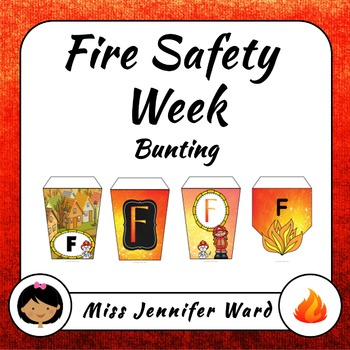 Fire Safety Bunting