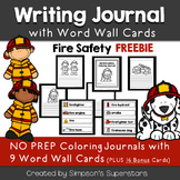 Fire Safety Coloring Journal