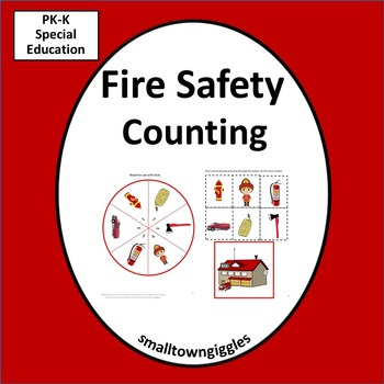 Fire Safety Counting, Cut and Paste