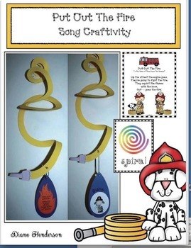 Fire Safety Craftivity: Put Out the Fire