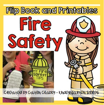 Fire Safety [Flip Book, Writing Center, Fire Hat]