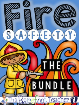 Fire Safety Math & Language Arts Bundle of Activities