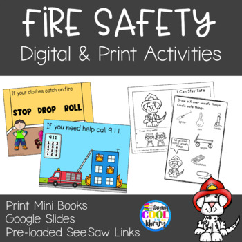 Fire Safety - Mini Books and Printables