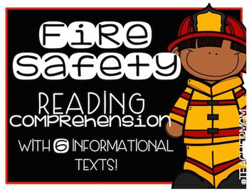 Fire Safety Primary Informational (Non-Fiction) Text Pack