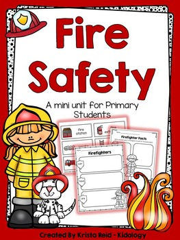 Fire Safety - Printables For Primary Students