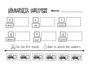 Fire Safety Quick Worksheets