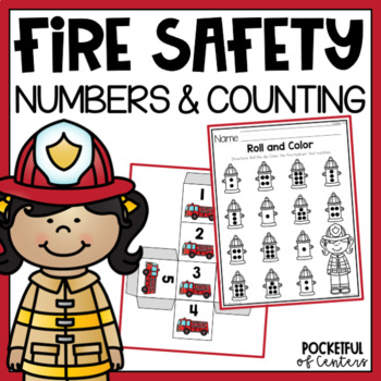 Fire Safety Roll and Write Numbers