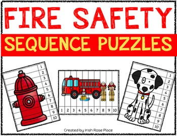 Fire Safety Sequence Puzzles