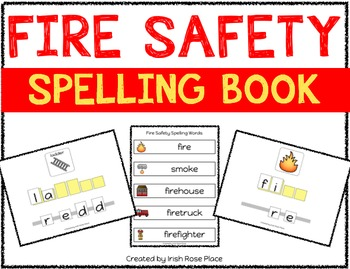 Fire Safety Spelling Books (Adapted Book)