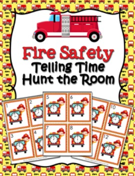 Fire Safety Time to the Hour Hunt the Room