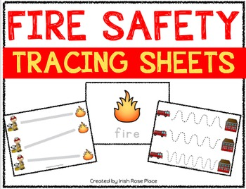 Fire Safety Tracing Sheets