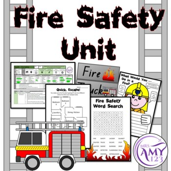 Fire Safety Unit - Great unit for fire prevention week!