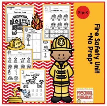 "Fire Safety Unit ""No Prep"""