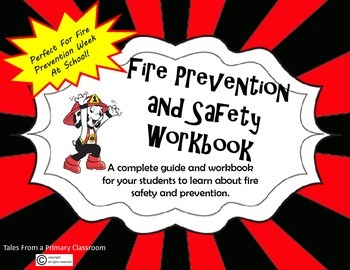 Fire Safety and Prevention Workbook for Students- Fire Pre